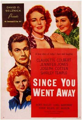 Since You Went Away - 11 x 17 Movie Poster - Style A