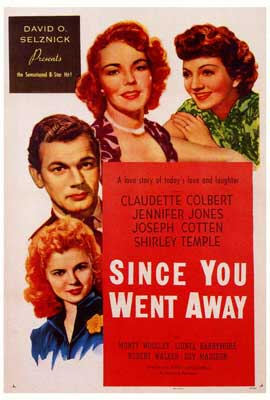 Since You Went Away - 27 x 40 Movie Poster - Style A
