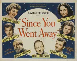 Since You Went Away - 22 x 28 Movie Poster - Half Sheet Style A