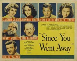 Since You Went Away - 22 x 28 Movie Poster - Half Sheet Style B