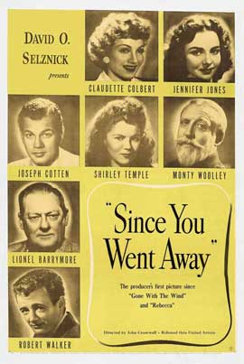 Since You Went Away - 27 x 40 Movie Poster - Style B