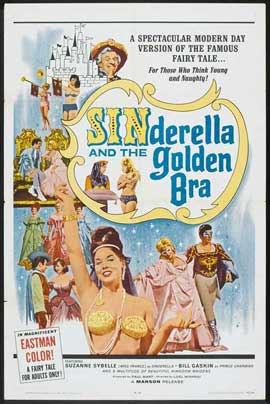 Sinderella and the Golden Bra - 11 x 17 Movie Poster - Style A