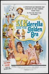 Sinderella and the Golden Bra - 27 x 40 Movie Poster - Style A