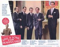 Sing a Song, For Heaven's Sake - 11 x 14 Movie Poster - Style E