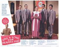 Sing a Song, For Heaven's Sake - 11 x 14 Movie Poster - Style F