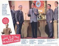 Sing a Song, For Heaven's Sake - 11 x 14 Movie Poster - Style C
