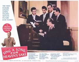 Sing a Song, For Heaven's Sake - 11 x 14 Movie Poster - Style G