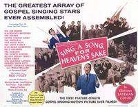 Sing a Song, For Heaven's Sake - 11 x 14 Movie Poster - Style A