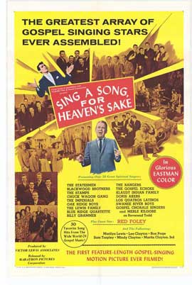 Sing a Song, For Heaven's Sake - 27 x 40 Movie Poster - Style A