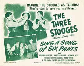Sing a Song of Six Pants - 11 x 17 Movie Poster - Style A