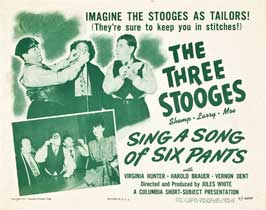 Sing a Song of Six Pants - 27 x 40 Movie Poster - Style A