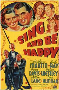 Sing and Be Happy - 11 x 17 Movie Poster - Style A