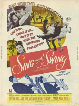 Sing and Swing - 11 x 17 Movie Poster - Style B