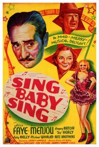 Sing Baby Sing - 27 x 40 Movie Poster - Style A
