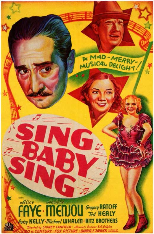 Sing, Baby, Sing movie