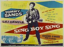 Sing Boy Sing - 11 x 14 Poster UK Style A
