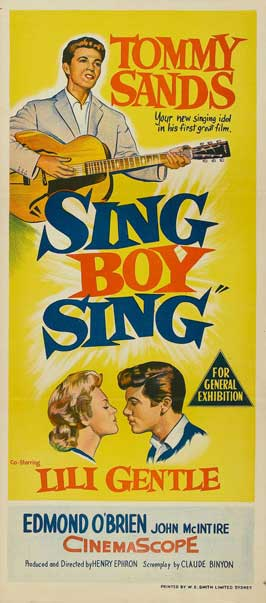 Sing Boy Sing - 13 x 30 Movie Poster - Australian Style A