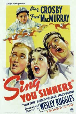 Sing You Sinners - 11 x 17 Movie Poster - Style A