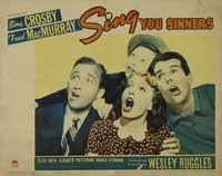 Sing You Sinners - 11 x 14 Movie Poster - Style A