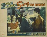 Sing You Sinners - 11 x 14 Movie Poster - Style B
