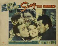 Sing You Sinners - 11 x 14 Movie Poster - Style D