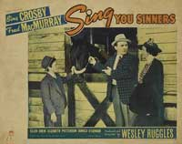 Sing You Sinners - 11 x 14 Movie Poster - Style E