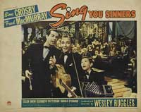 Sing You Sinners - 11 x 14 Movie Poster - Style G