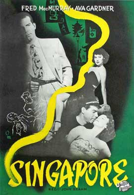 Singapore - 11 x 17 Movie Poster - Swedish Style A