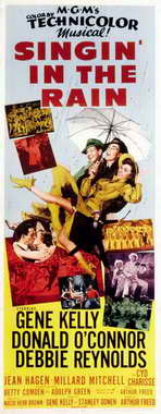 Singin' in the Rain - 14 x 36 Movie Poster - Insert Style A