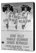 Singin' in the Rain - 11 x 17 Movie Poster - Style H - Museum Wrapped Canvas
