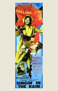 Singin' in the Rain - 11 x 17 Movie Poster - Style C