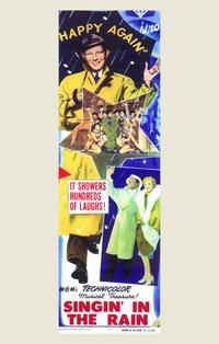 Singin' in the Rain - 11 x 17 Movie Poster - Style B