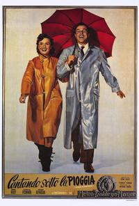 Singin' in the Rain - 27 x 40 Movie Poster - Italian Style A