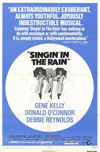 Singin' in the Rain - 11 x 17 Movie Poster - Style F