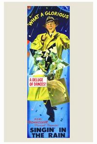 Singin' in the Rain - 27 x 40 Movie Poster - Style A