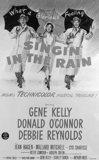 Singin' in the Rain - 11 x 17 Movie Poster - Style H
