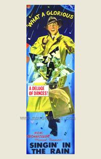 Singin' in the Rain - 43 x 62 Movie Poster - Bus Shelter Style A