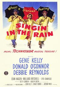 Singin' in the Rain - 43 x 62 Movie Poster - Bus Shelter Style B