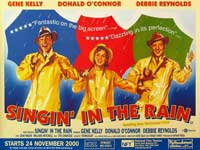 Singin' in the Rain - 30 x 40 Movie Poster UK - Style A