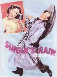 Singin' in the Rain - 27 x 40 Movie Poster - Japanese Style B