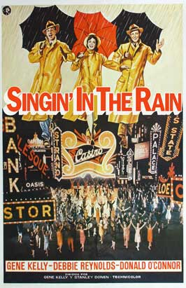 Singin' in the Rain - 11 x 17 Movie Poster - International Style A