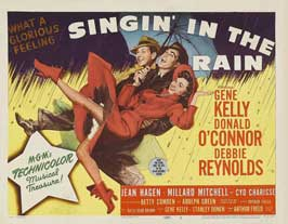 Singin' in the Rain - 11 x 14 Movie Poster - Style B