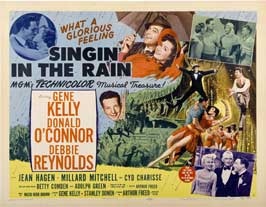 Singin' in the Rain - 30 x 40 Movie Poster - Style C