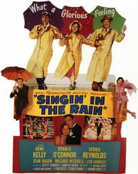 Singin' in the Rain - 11 x 17 Movie Poster - Style E - Museum Wrapped Canvas