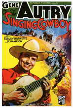 Singing Cowboy - 27 x 40 Movie Poster - Style A