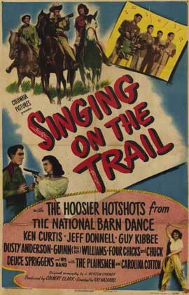 Singing On the Trail - 11 x 17 Movie Poster - Style A