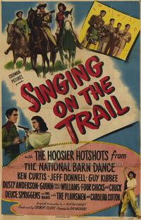 Singing On the Trail - 27 x 40 Movie Poster - Style A