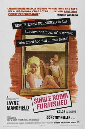 Single Room Furnished - 11 x 17 Movie Poster - Style A