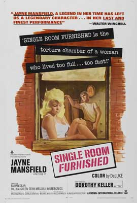 Single Room Furnished - 27 x 40 Movie Poster - Style A