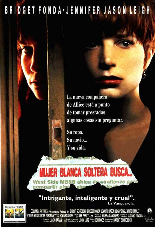 Single White Female - 11 x 17 Movie Poster - Spanish Style A